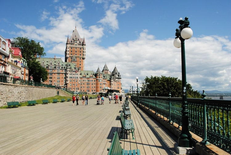 Slip on some comfortable shoes and follow your own path through the only fortified city north of Mexico, Old Quebec.