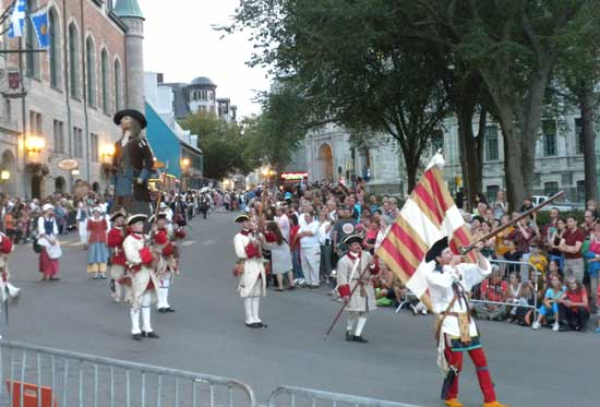 New France Festival parade in Quebec City, Quebec. Photo by Janna Graberty, Quebec