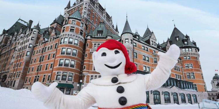 Bonhomme is the mascot for the Quebec Winter Carnival.