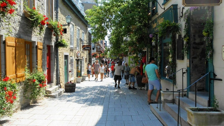 Quebec City treasures its French roots and has a European feel.