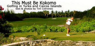 Golfing in Turks and Caicos