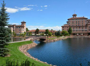 The Broadmoor Hotel in Colorado Springs, Colorado