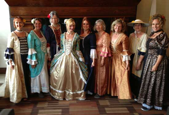 Getting all dressed up for the New France Festival in Quebec City. Photo by Bill King