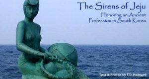 The Mermaids (haenyo) of Jeju Island, South Korea