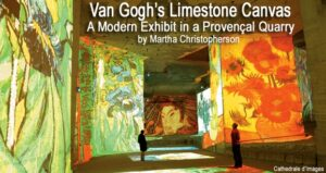 Van Gogh's Limestone Canvas: A Modern Exhibit in a Provençal Quarry