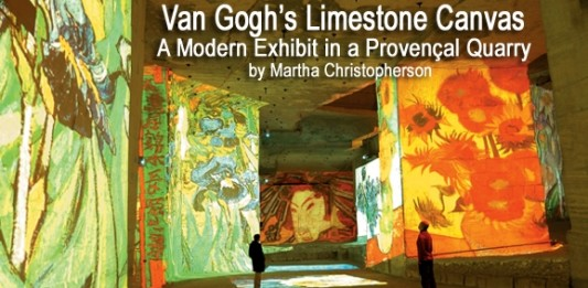 Van Gogh's Limestone Canvas: A Modern Exhibit in a Provençal Quarry
