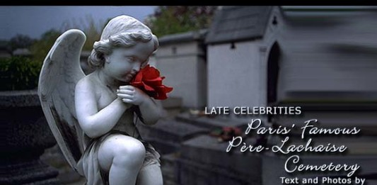 Paris' Famous Pere-Lachaise Cemetery
