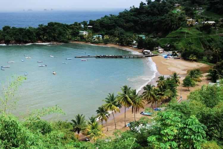 There's no better kickin' back Caribbean island than Tobago.