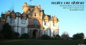 Rain or Shine: Castle Stay near Loch Lomond