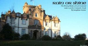 Rain or Shine: Castle Stay near Loch Lomond