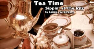 Tea Time: Sippin' at The Ritz in London