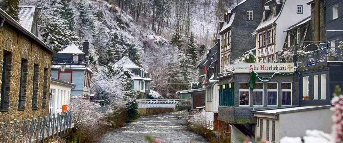 Winter in Monschau.