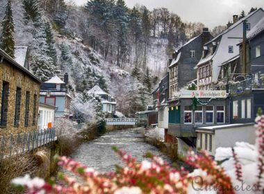 Winter in Monschau.