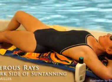 Dangers of suntanning