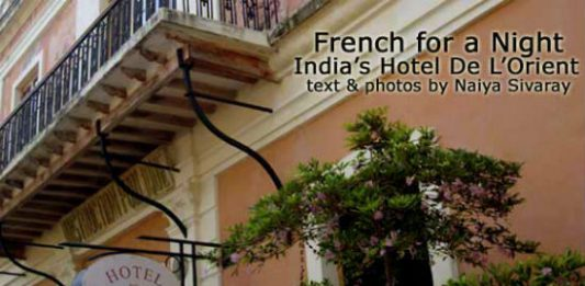 French for a Night: India's Hotel De L'Orient
