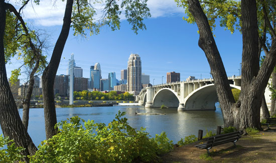 Minneapolis and St. Paul are both green cities in many ways. Photo by Meet Minneapolis