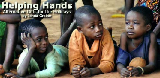 Helping Hands: Alternative Gifts for the Holidays