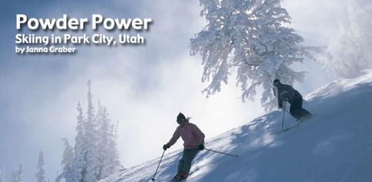 Powder Power: Skiing in Park City, Utah