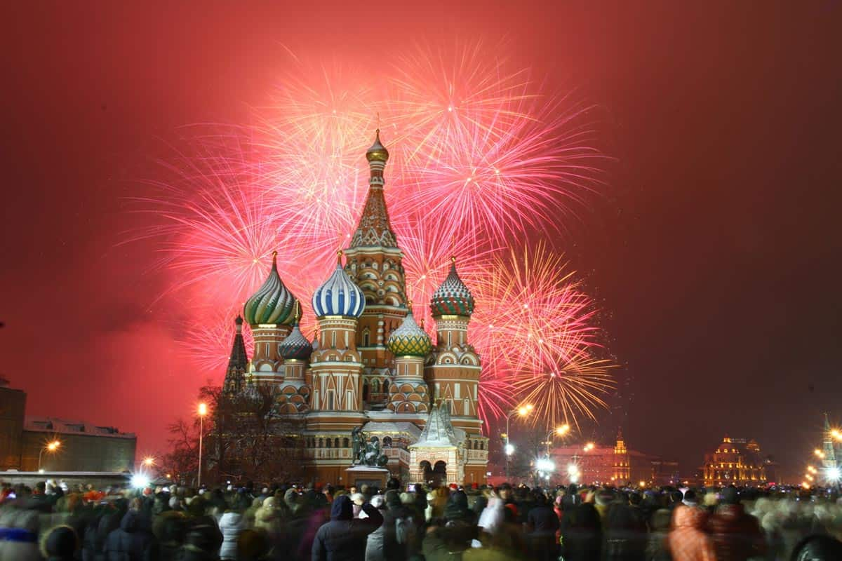 Celebrating New Year's Eve in Moscow, Russia - Go World Travel