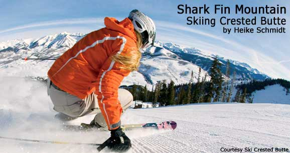 Shark Fin Mountain: Skiing Crested Butte