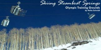 Skiing in Steamboat Springs, Colorado