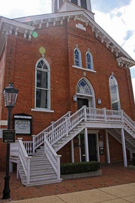 Dexter Street Church. Photo by Rick DuVal