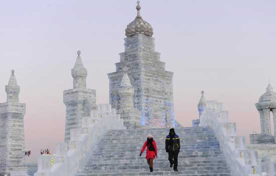 Snow & Ice Festival - Harbin, China