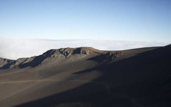 Haleakala landscape on the island of Maui.
