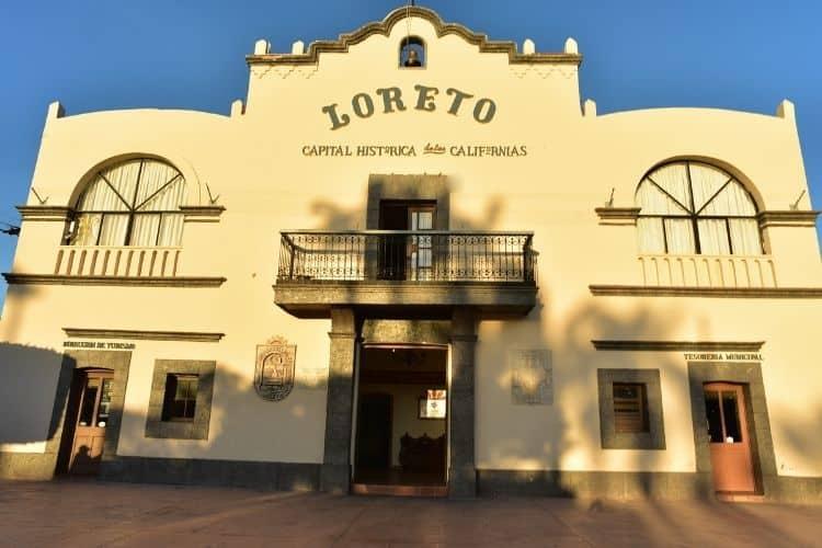 Loreto Baja California architecture