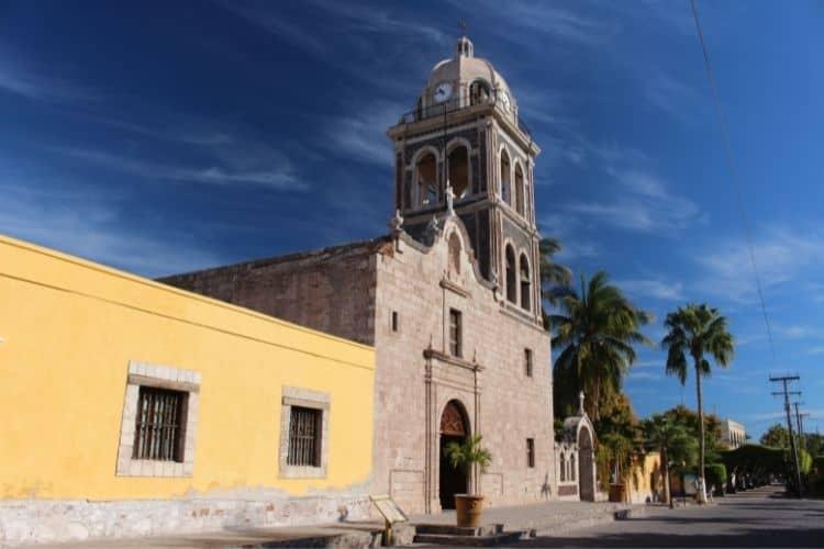 Mission in Loreto Baja Californai