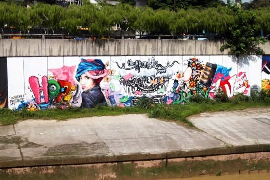 Street art in Kuala Lumpur. Arman Shah/Asiarooms