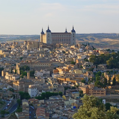 View of Toledo from a parador hotel in the hills above the city. Photo by Bob Schulman