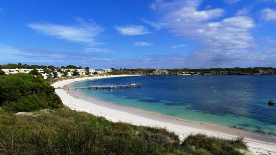 A beautiful beach day at Rottnest Island. Photo by Ling Xin Sia.