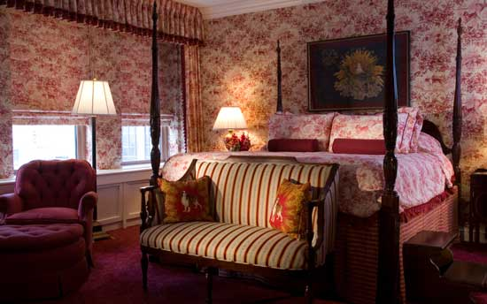 The Eisenhower Suite at Denver's historic Brown Palace Hotel.