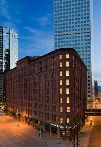 The historic Brown Palace in Denver. Photo courtesy Visit Denver