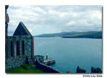 Peel Castle is recognized as the home of Moddey Dhoo, a ghostly black dog said to have scared a sentry to death.