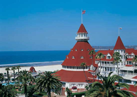 Historic hotels like Hotel del Coronado are rich with stories -- including ghost stories. Photo by Hotel del Coronado