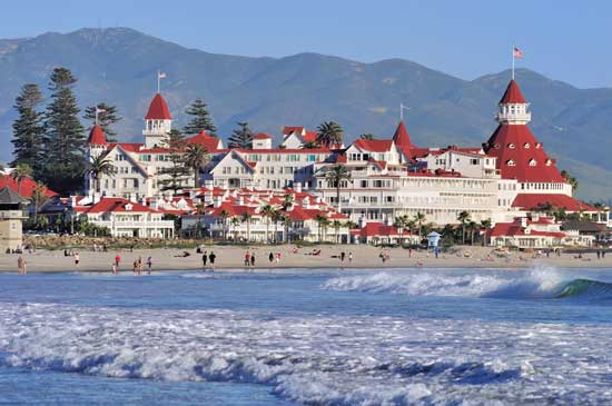 The Hotel del Coronado. Photo courtesy Hotel del Coronado