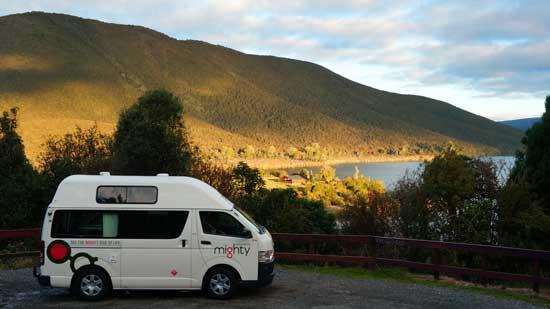 The Mighty near Tongariro National Park