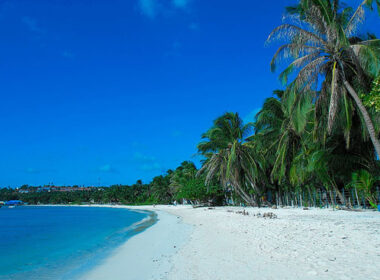 Beach in San Andres