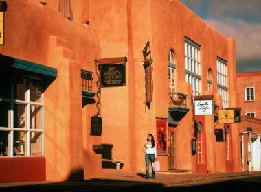 Santa Fe is a shopping mecca, especially if you love the visual arts. Photo by Doug Merriam