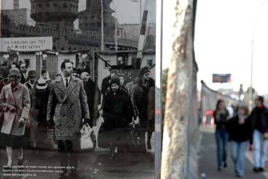 Berlin then and now. Photo by VisitBerlin