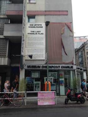 Checkpoint Charlie Museum. Photo by Janna Graber