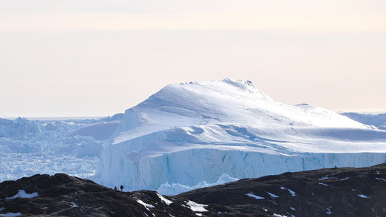 More than 85 percent of Greenland is covered by an ice cap. Photo by Visit Greenland