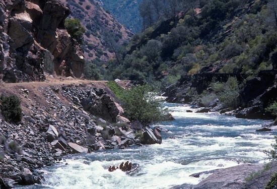 River Rafting in California