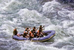 Drenched on the River of Mercy: Rafting in California