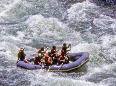 Rapid fire on the Merced River.