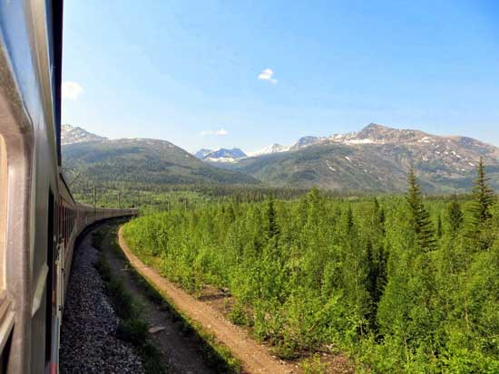 The view from the Baikal-Amur Mainline