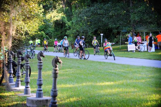 Biking in Inverness, Citrus County Florida