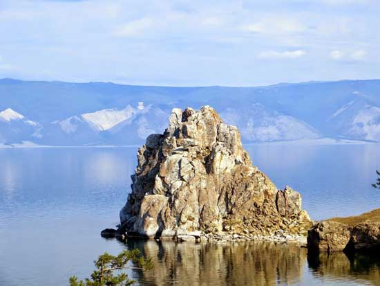 A spectacular sight at Lake Baikal